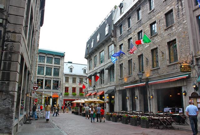 Região da Old Montreal