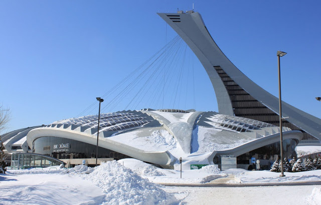 Complexo Olímpico e Biodôme Montreal