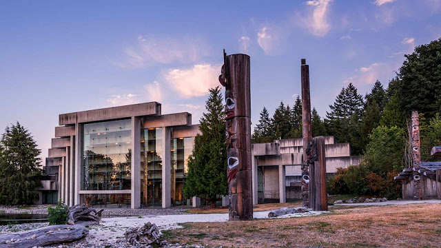 Museu de Antropologia em Vancouver
