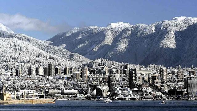 Inverno em Vancouver