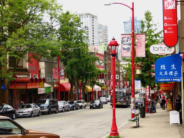 Chinatown em Vancouver