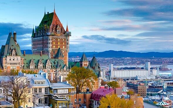 Top 5 melhores hotéis em Quebec City