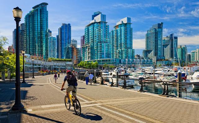 Economizar em Vancouver no Canadá