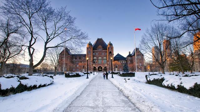 Ontario's Legislative Building em Toronto
