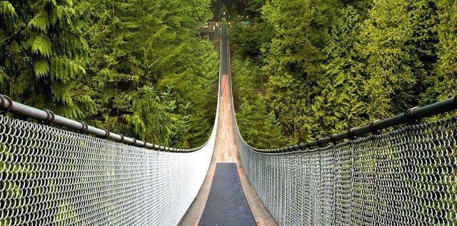 Ingressos para o Capilano Suspension Bridge