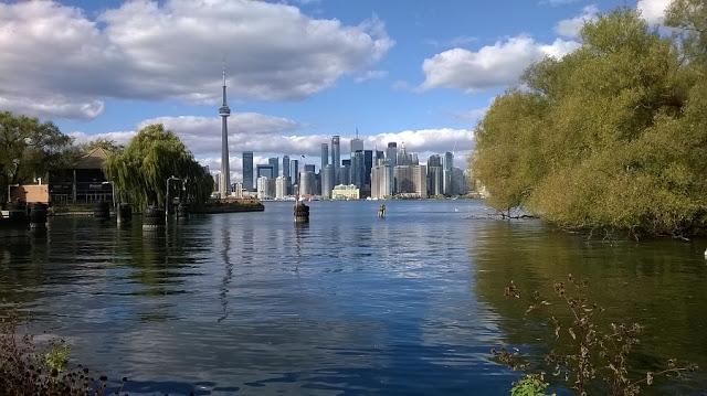 Vista das Ilhas de Toronto