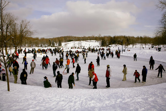 Beaver Lake em Montreal