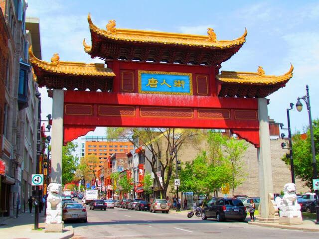 Quartier Chinois em Montreal