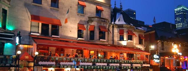 Sir Winston Churchill Pub em Montreal