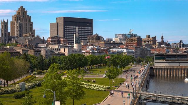 Velho Porto em Montreal
