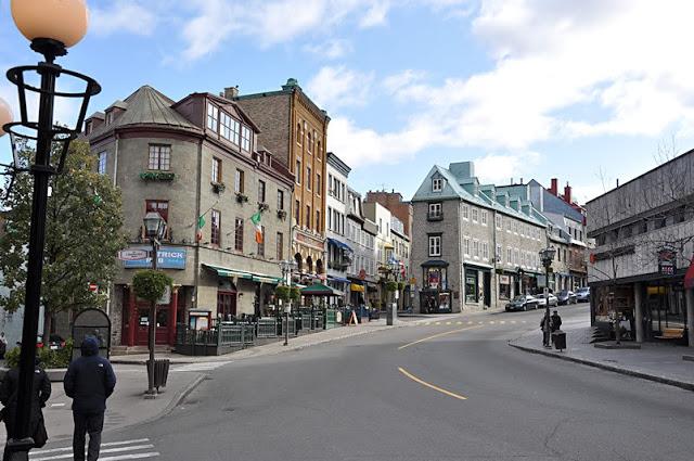 Rue St-Jean em Quebec