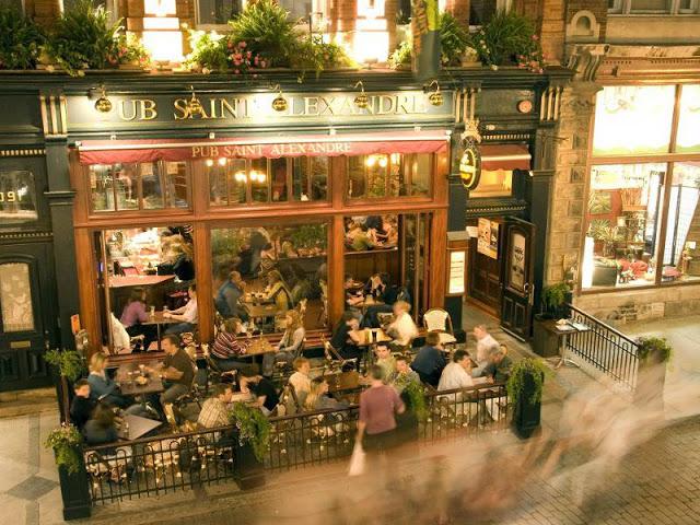Pub Saint-Alexandre em Quebec