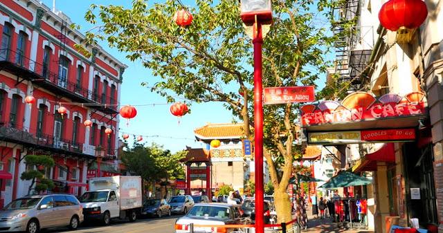 Chinatown em Victoria