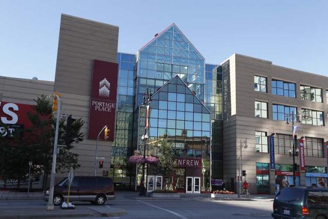 Portage Place Shopping Centre em Winnipeg