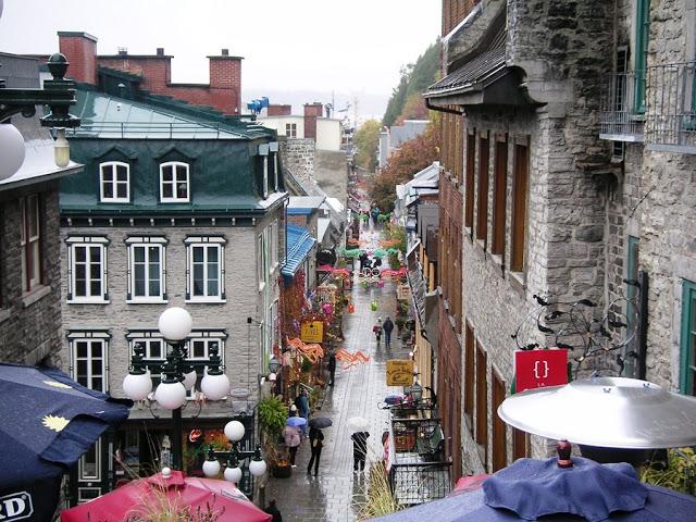 Quartier Petit Champlain em Quebec