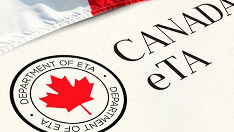 Emissão da Autorização Eletrônica de Viagem (eTA) para o Canadá