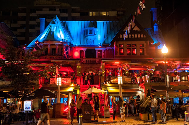 Vida noturna em Quebec