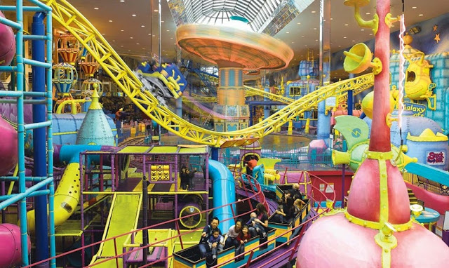 Galaxyland no West Edmonton Mall