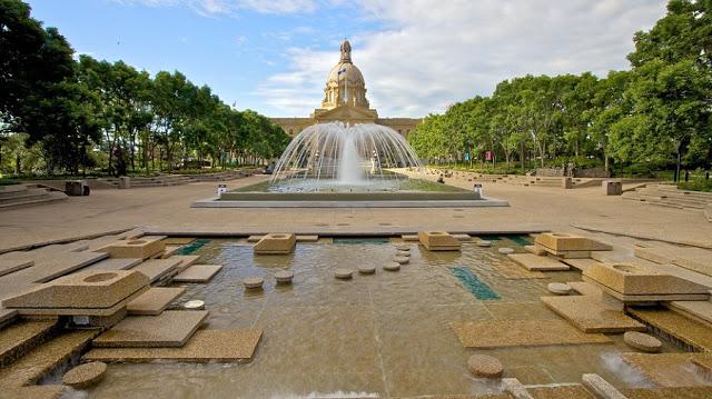 Assembleia Legislativa de Alberta em Edmonton