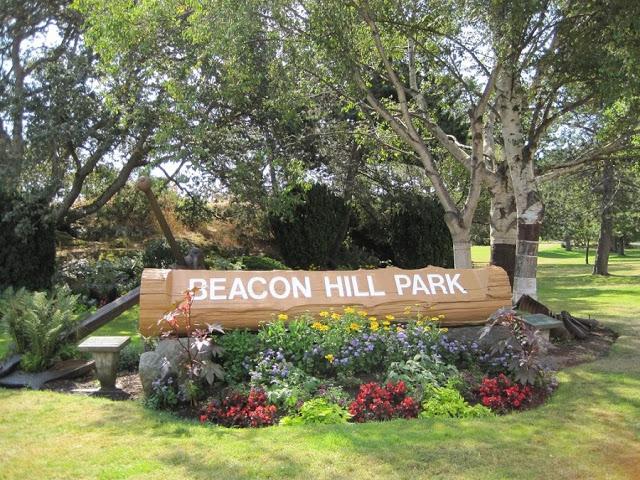 Beacon Hill em Victoria