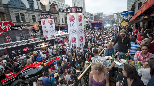 Grand Prix Weekend em Montreal