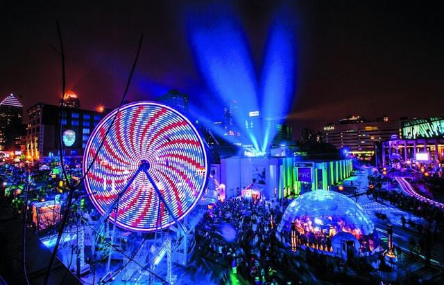 Montréal en Lumière et Nuit Blanche