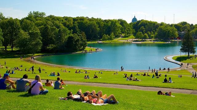 Parque Mont Royal em Montreal