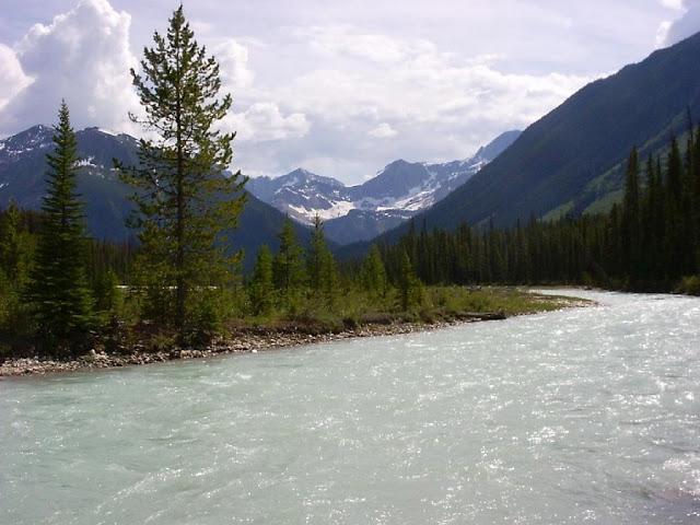 Parque Nacional Kootenay no Canadá