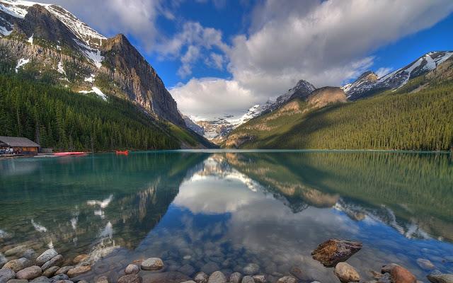 Lago Louise no Canadá