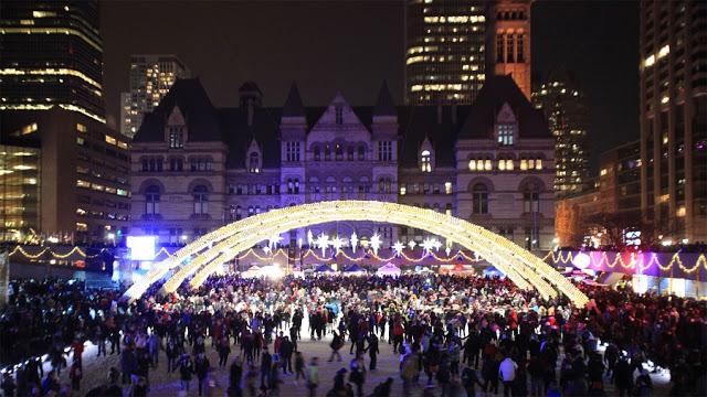 Cavalcade of Lights em Toronto