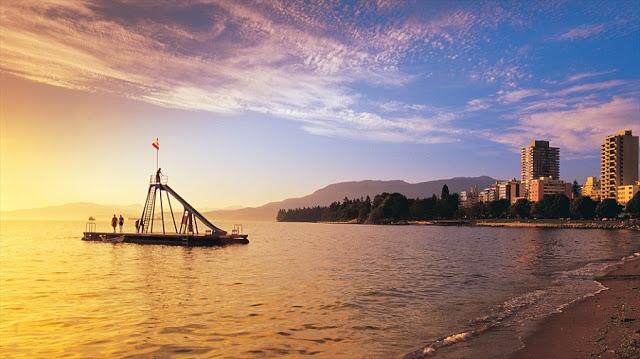 English Bay em Vancouver