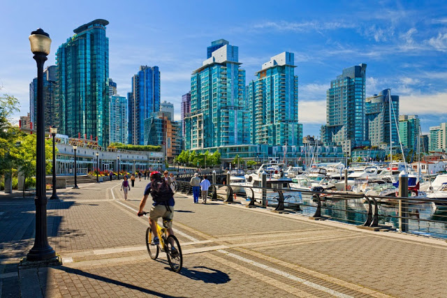 Como andar em Vancouver
