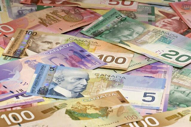 Como levar dinheiro para Calgary