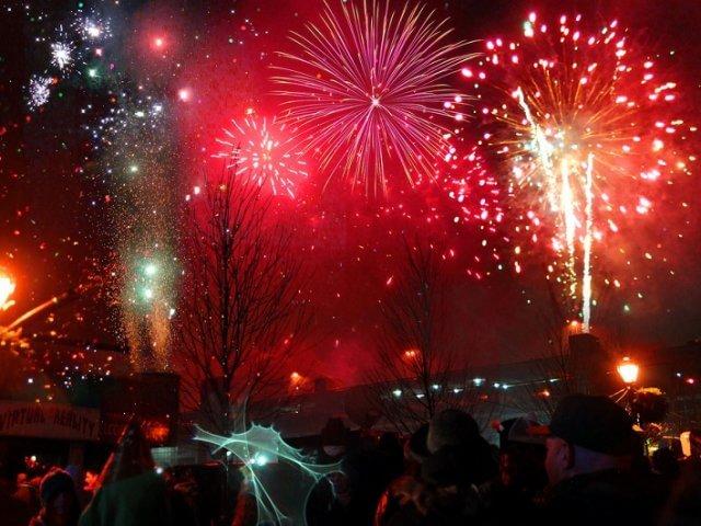 Ano Novo em Niagara Falls