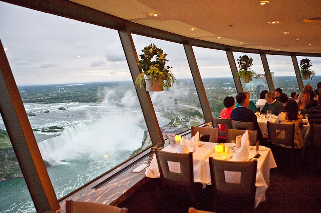 Skylon Tower Restaurant em Niagara Falls