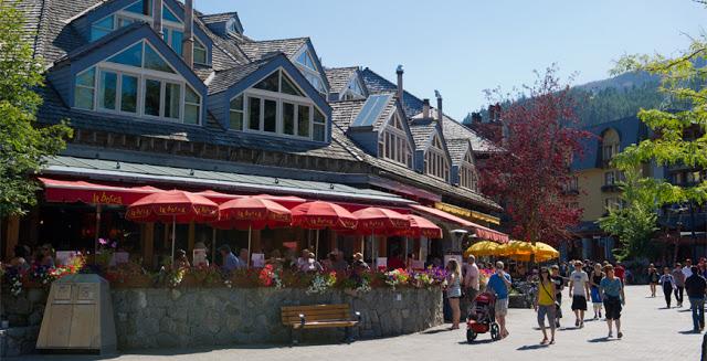 Village Stroll em Whistler