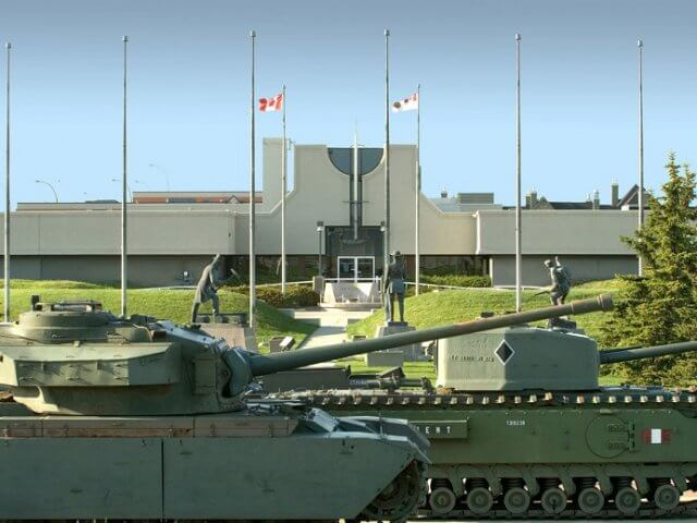 The Military Museums em Calgary