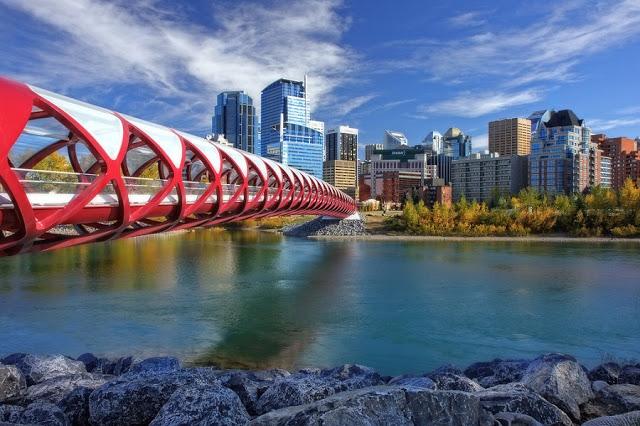 Ponte da Paz em Calgary