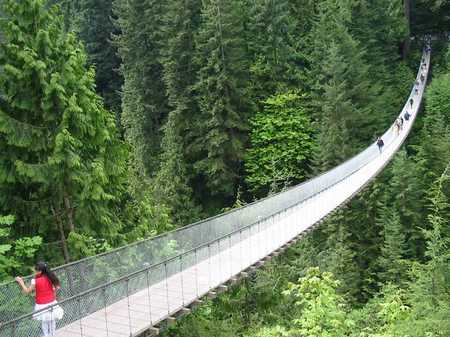 Capilano Suspension Bridge em Vancouver