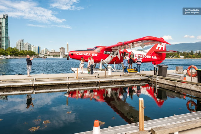 Tour de hidroavião por Vancouver