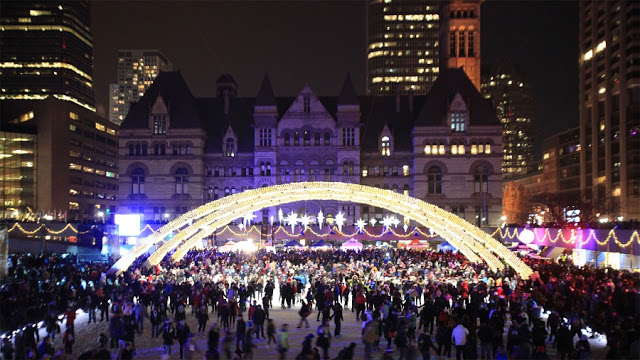 Cavalcade of Lights em Toronto