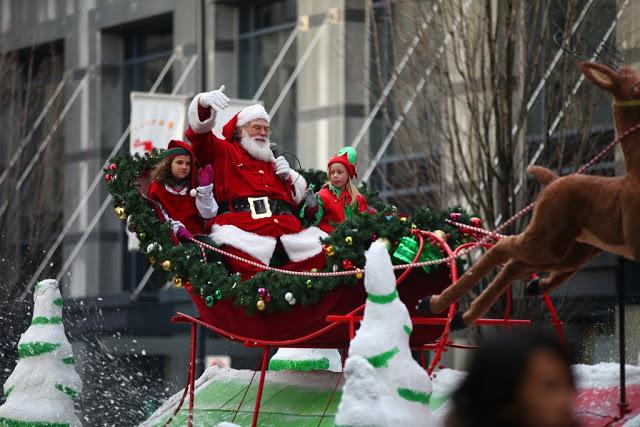 Parada Rogers Santa Claus em Vancouver