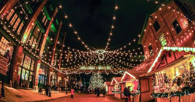 Natal em Toronto em 2018