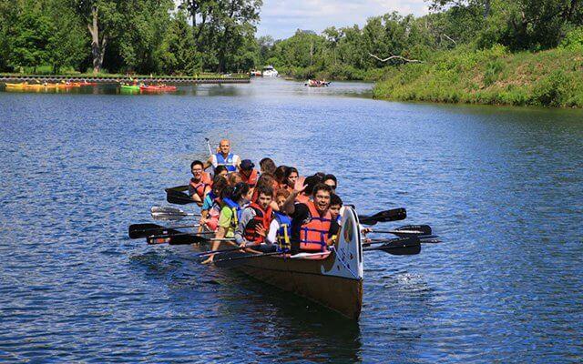 Excursão de canoa pelas Ilhas de Toronto